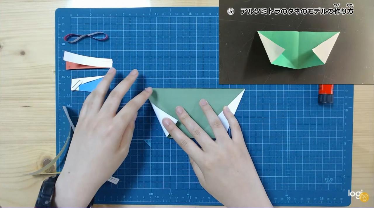 飛ぶタネの実験工作
